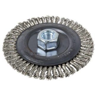 Jet 553462 5 x 1/4 x 5/8-11 NC Stainless Stringer Bead Brush