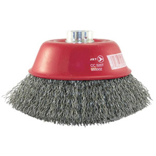 Jet 553502 5 x 5/8-11 NC Crimped Wire Cup Brush