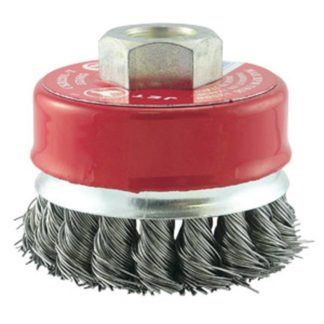 Jet 553605 2-3/4 x 5/8-11NC Knot Banded Cup Brush