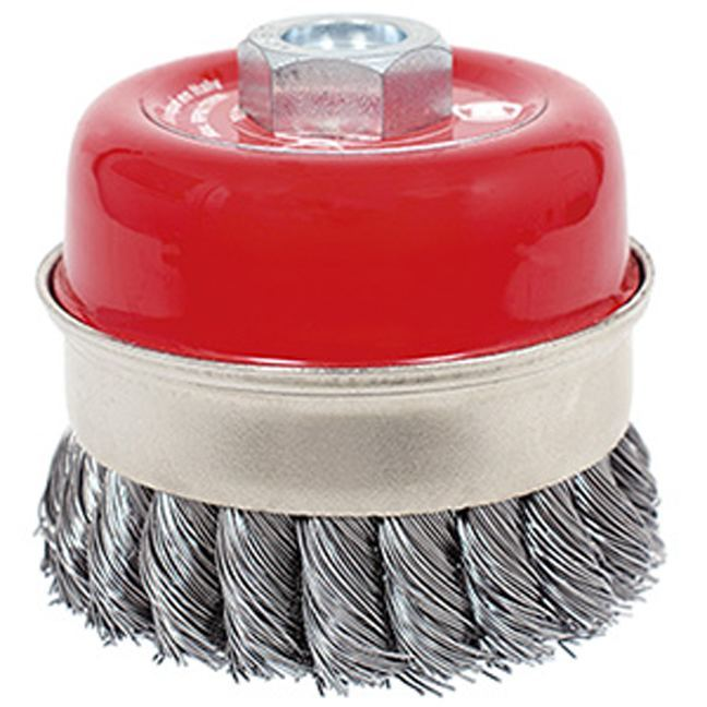 Jet 553606 3-1/2 x 5/8-11NC Knot Banded Cup Brush