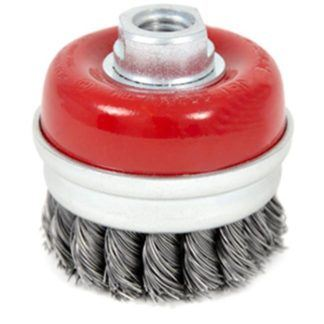 Jet 553607 3 x 5/8-11NC Knot Banded Cup Brush