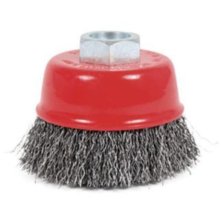 Jet 554100 3 x 5/8-11NC Crimped Cup Brush