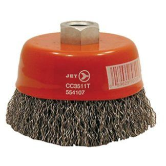 Jet 554103 3-1/4 x 10mm Crimped Cup Brush