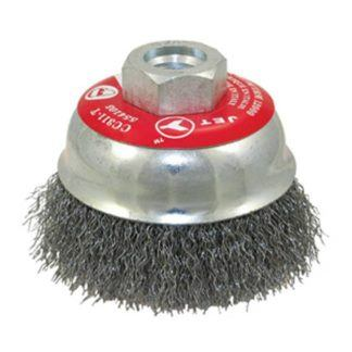 Jet 554105 3-1/4 x 5/8-11NC Crimped Cup Brush