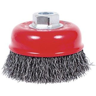 Jet 554106 3-3/4 x 5/8-11NC Crimped Cup Brush