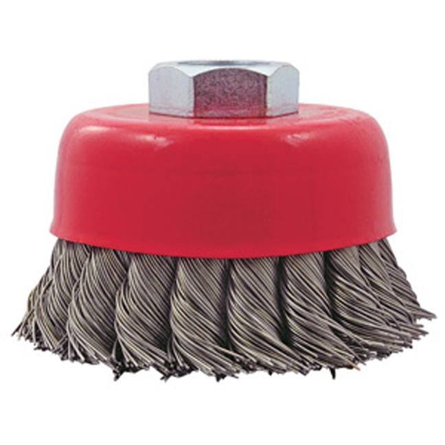 Jet 554203 3 x 5/8-11NC Knot Twisted Cup Brush
