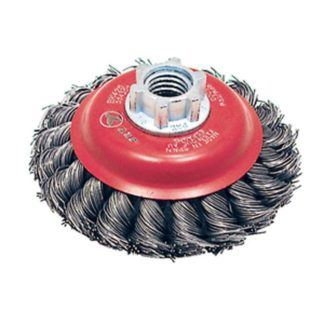 Jet 554305 4 x 5/8-11 NC Knot Twisted Conical Brush