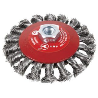 Jet 554311 5 x 5/8-11NC Knot Twisted Conical (Bevel) Brush
