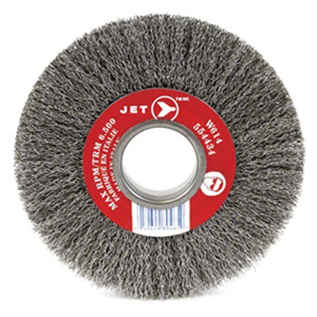 Jet 554455 8 x 1 General Purpose Bench Crimped Wire Wheel