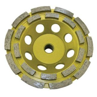 Jet 568504 5 x 5/8-11 JET-KUT Double Row Cup Wheel