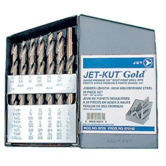Jet 570142 29 PC JET-KUT GOLD Drill Bit Set - Super Premium