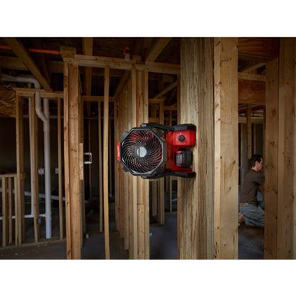 Milwaukee 0886-20 M18 Jobsite Fan Mounted