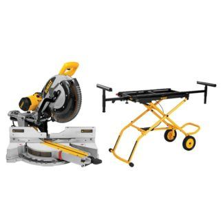 "DeWalt DWS780RST 12"" Double Bevel Sliding Compound Mitre Saw"