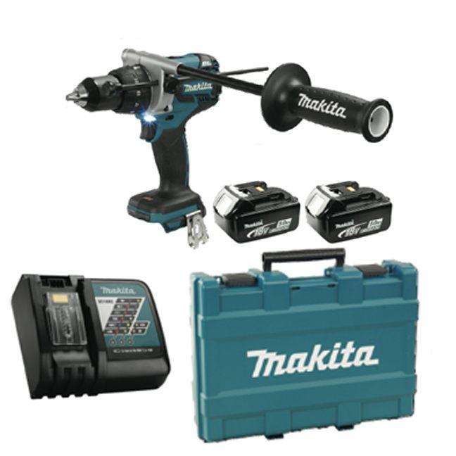 """Makita DHP481RTE 18V LXT 1/2"""" Drill Kit"""