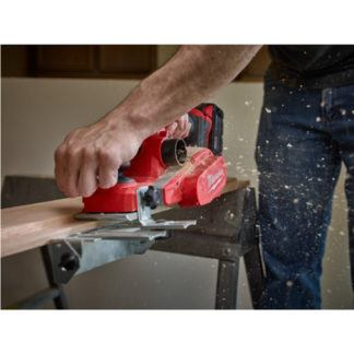 Milwaukee 2623-20 M18 Planer In Use