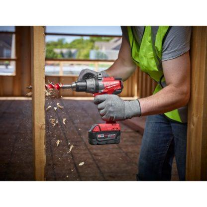 Milwaukee 2704-20 M18 FUEL Hammer Drill Driver In Use 2