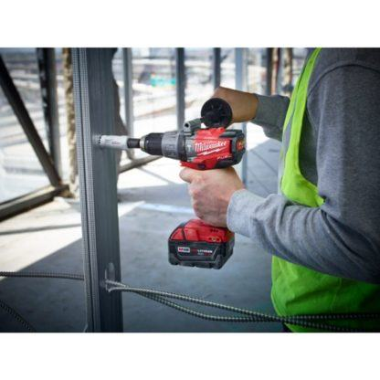 Milwaukee 2704-20 M18 FUEL Hammer Drill Driver In Use 5