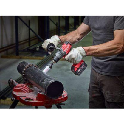 Milwaukee 2704-20 M18 FUEL Hammer Drill Driver In Use 6