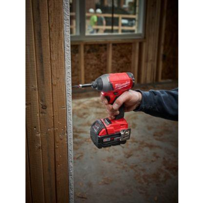 Milwaukee 2753-20 M18 FUEL Hex Impact Driver In Use 2