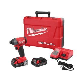 "Milwaukee 2753-22CT M18 FUEL 1/4"" Hex Impact Driver Kit"