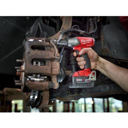 Milwaukee 2754-20 M18 FUEL Compact Impact Wrench In Use 1
