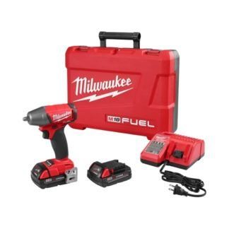 """Milwaukee 2754-22CT M18 FUEL 3/8"""" Compact Impact Wrench"""