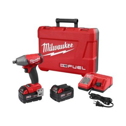 """Milwaukee 2755-22 M18 FUEL 1/2"""" Compact Impact Wrench Kit"""
