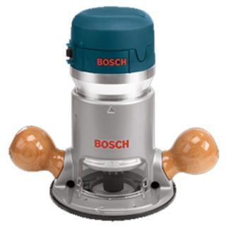 Bosch 1617 2 HP Single-Speed Fixed-Base Router