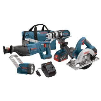 Bosch CLPK402-181 18 V 4-Tool Combo Kit