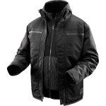 Milwaukee M12 Heated 3in1 Ripstop Jacket - Black