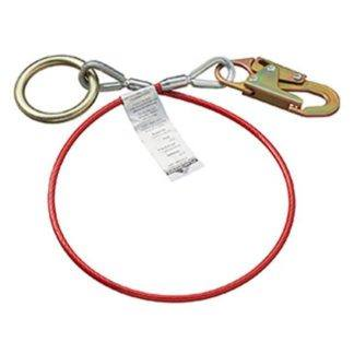 Peakworks AS-21210-4 Cable Anchor Sling PVC Snap & O-Ring 4'