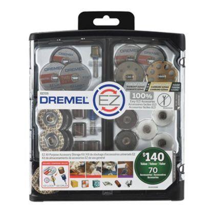 Dremel EZ725 70-Piece EZ All Purpose Accessory Storage Kit