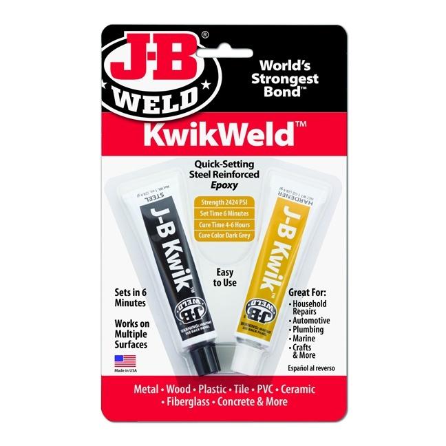 J-B Weld 8276 Compound Cold Kwik Weld