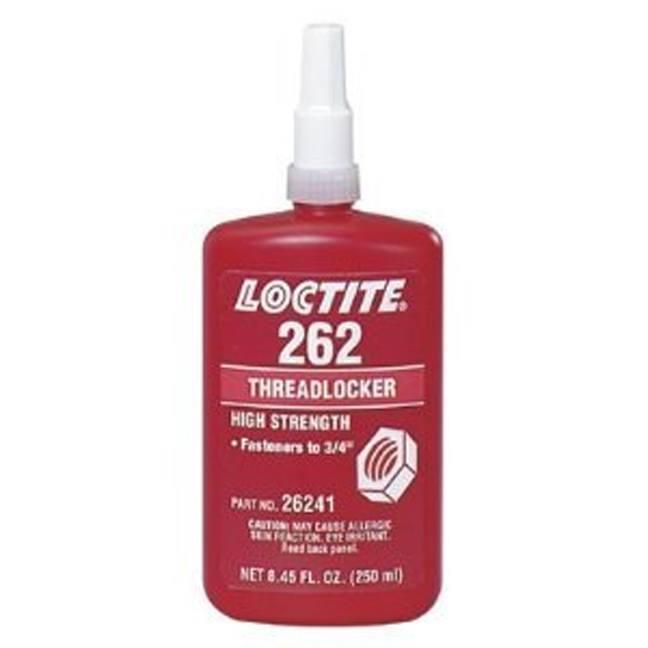 Loctite 26241 262 Red Threadlocker 250 Ml Bc Fasteners