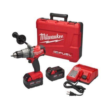 "Milwaukee 2704-22 M18 FUEL 1/2"" Hammer Drill Driver Kit"