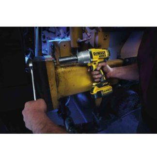 DeWalt DCF899B 20V MAX XR Brushless Impact Wrench In Use 1