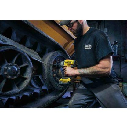 DeWalt DCF899B 20V MAX XR Brushless Impact Wrench In Use 3