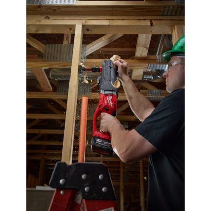 Milwaukee 2711-20 M18 FUEL SUPER HAWG Right Angle Drill In Use 1