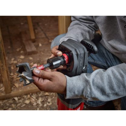 Milwaukee 2711-20 M18 FUEL SUPER HAWG Right Angle Drill In Use 5
