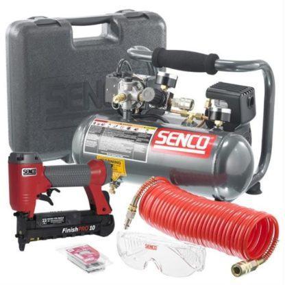 "Senco PC0974 1"" Micro Pinner and Compressor Kit"