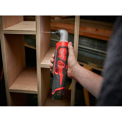Milwaukee 2467-20 M12 Hex Right Angle Impact Driver In Use
