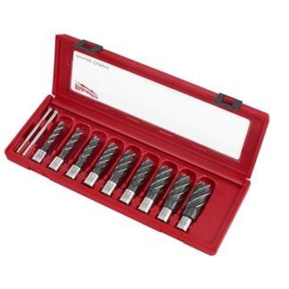 Milwaukee 49-22-8410 Annular Cutter Set (9 PC)