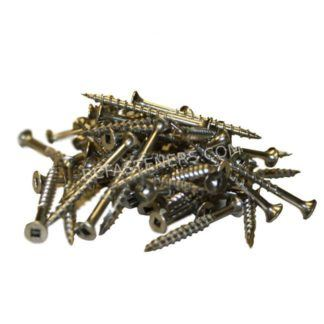 #8 Stainless Steel Flat Head Wood Screw Type 17