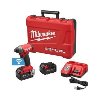 "Milwaukee 2757-22 M18 FUEL 1/4"" Impact Driver with ONE-KEY Kit"