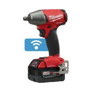 "Milwaukee 2759B-22 M18 FUEL 1/2"" Impact Wrench with ONE-KEY Kit"