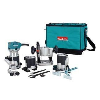 "Makita RT0701CX8 1/4"" - 3/8"" Trimmer"