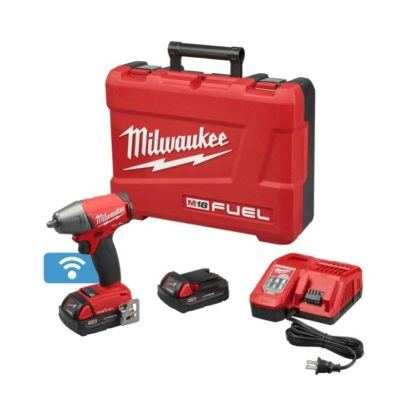 """Milwaukee 2758-22CT M18 FUEL 3/8"""" Impact Wrench with ONE-KEY Kit"""