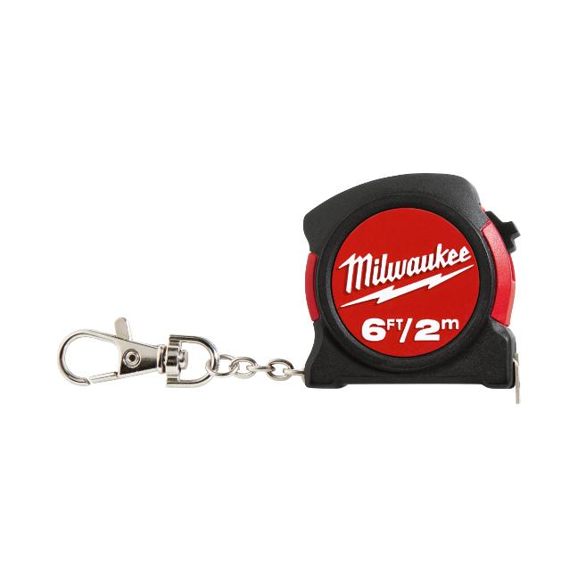 Milwaukee 48-22-5506 6ft/2m Keychain Tape Measure