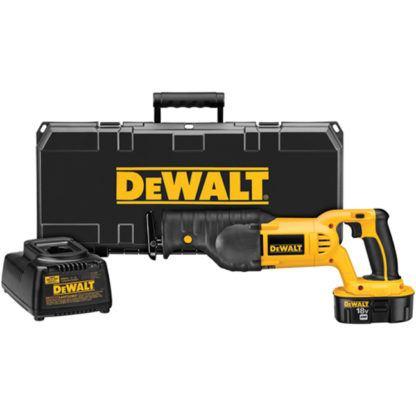 DeWalt DC385K 18V Reciprocating Saw Kit
