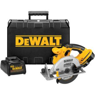 "DeWalt DC390K 6-1/2"" 18V Circular Saw Kit"